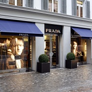 Prada showroom man Zurigo