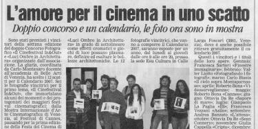 Fotografia e Cinema