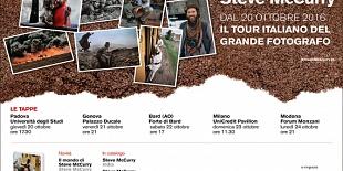 Steve McCurry fall tour 2016